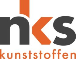verbindend element in kunststof logo